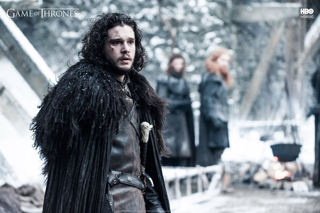 Jon Snow i Game of Thrones sesong 5