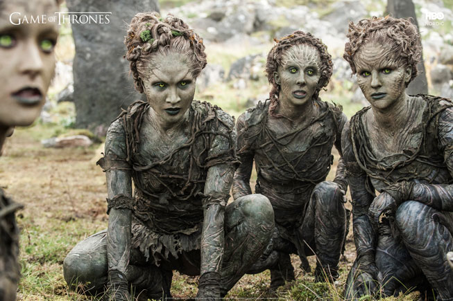 Children of The Forrest i Game of Thrones