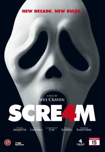 Scream 4 - skrekkfilm