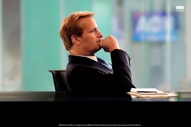 The Newsroom på HBO Nordic