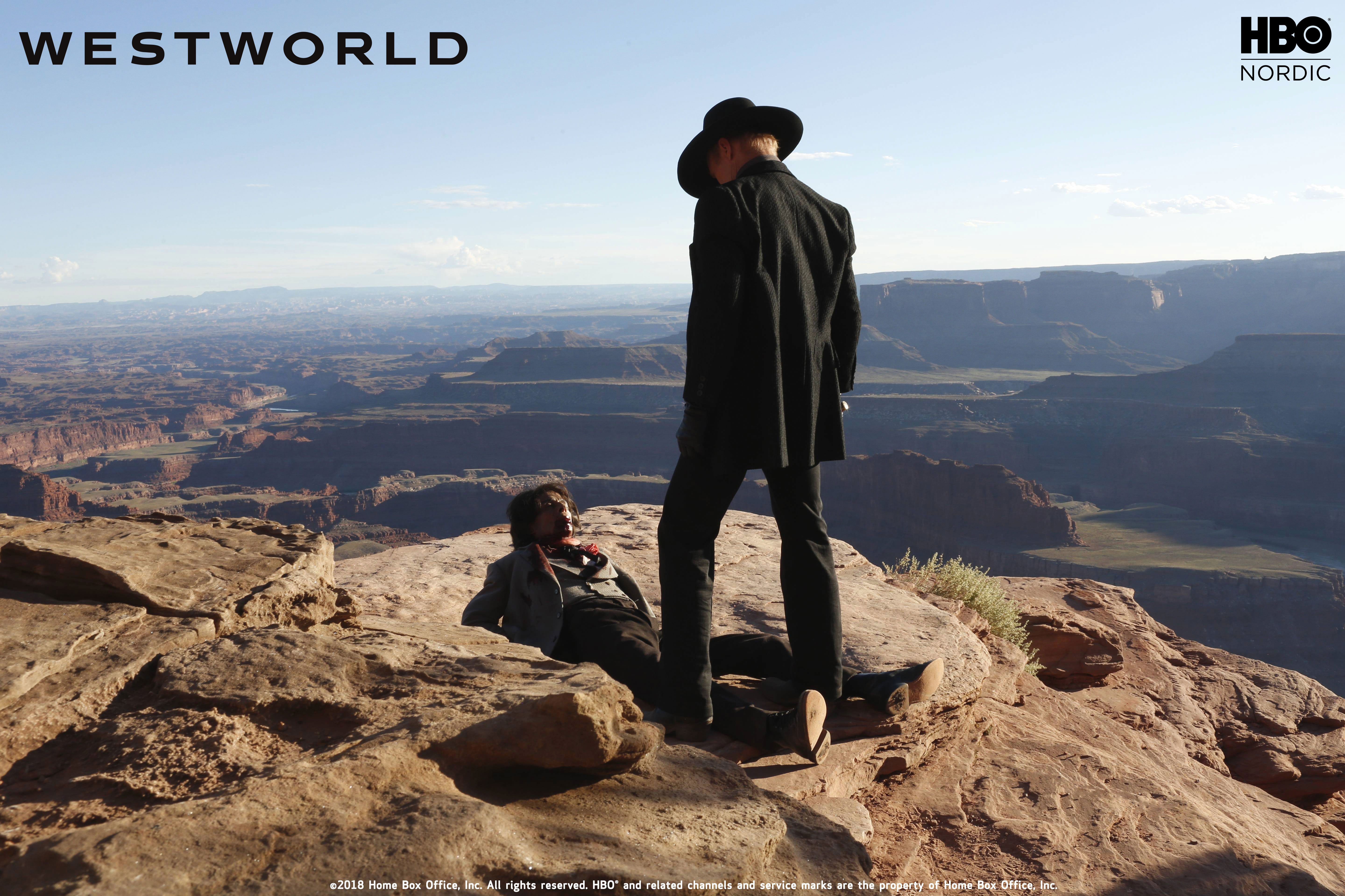 The Man in Black Westworld HBO
