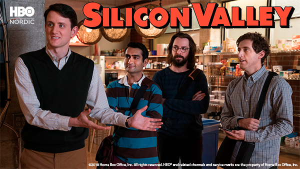 Silicon Valley på HBO Nordic
