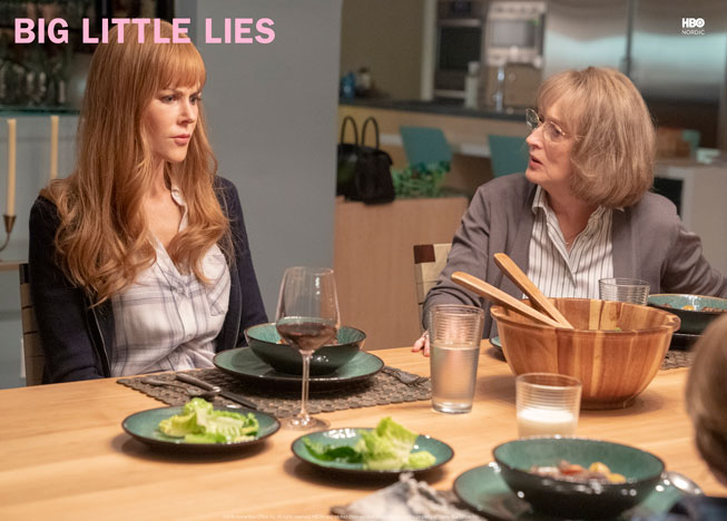 Meryl Streep og Nicole Kidman i Big Little Lies
