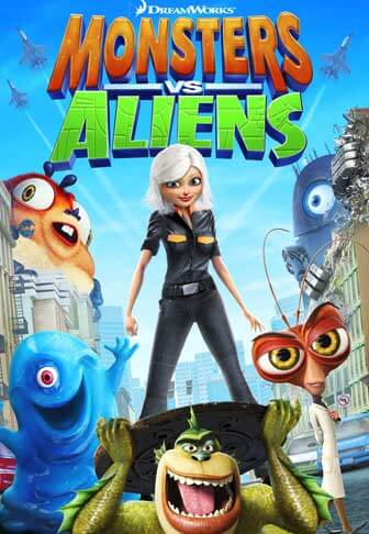 Halloween film for barn er Monsters vs Aliens