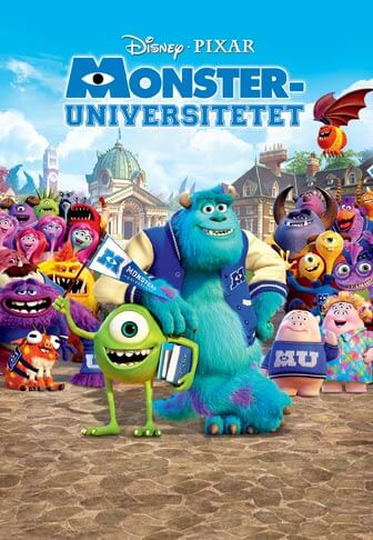Halloween film for barn er Monsteruniversitetet