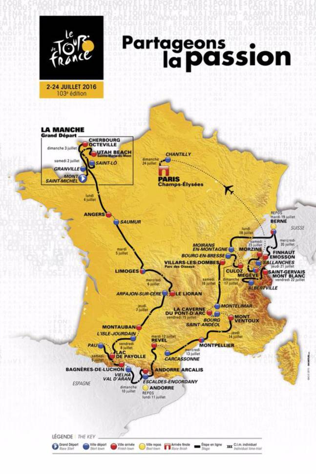Tour de France Partageons la Passion